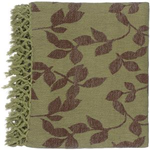 "Surya Throw Blankets Timora 50"" x 70"" Throw"