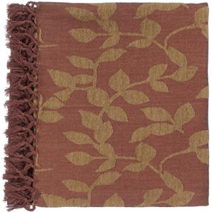 "Surya Rugs Throw Blankets Timora 50"" x 70"" Throw"