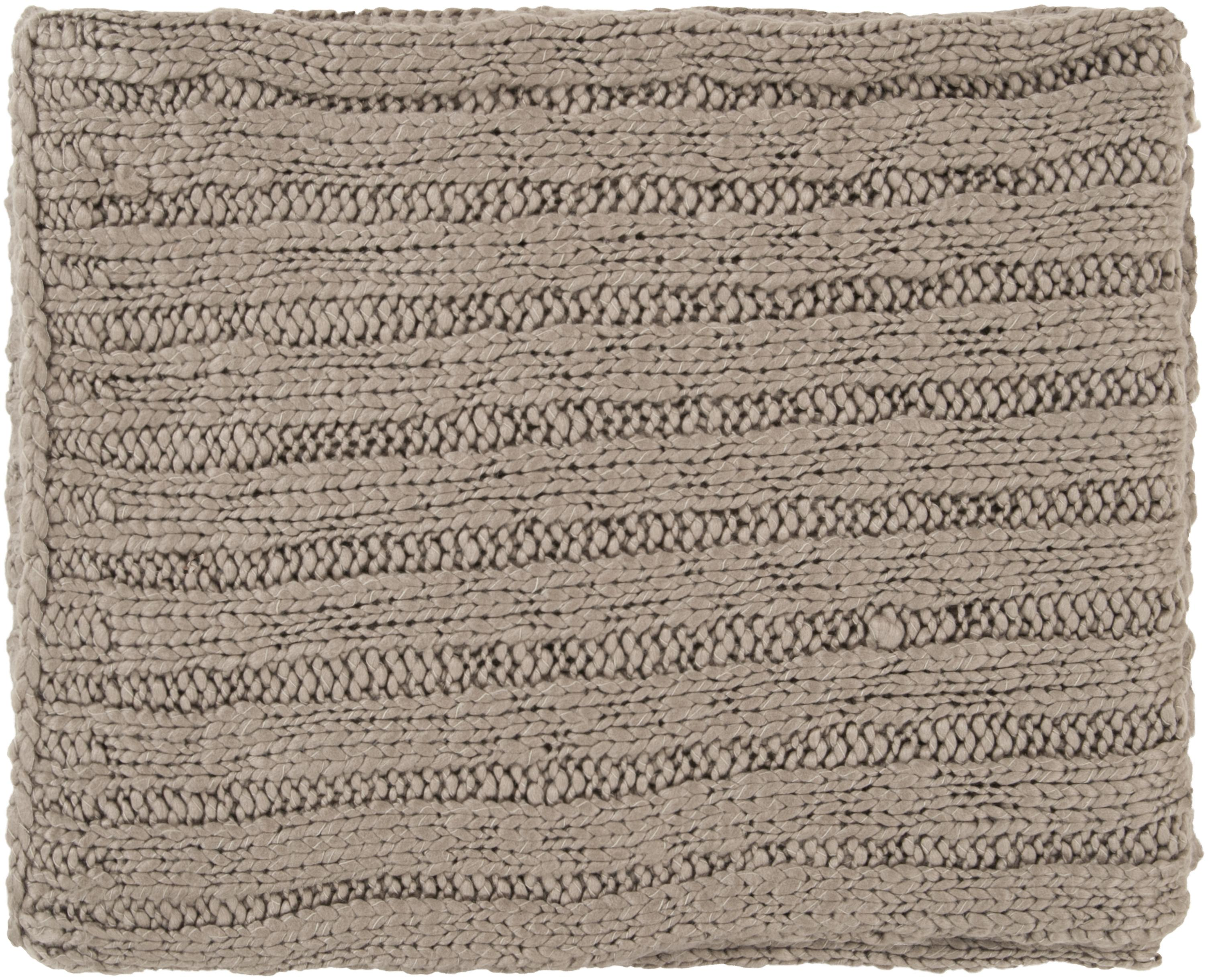 "Surya Rugs Throw Blankets Timothy 50"" x 60"" Throw - Item Number: TMT8302-5060"