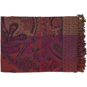"Surya Throw Blankets Tenali 55"" x 80"" Throw"
