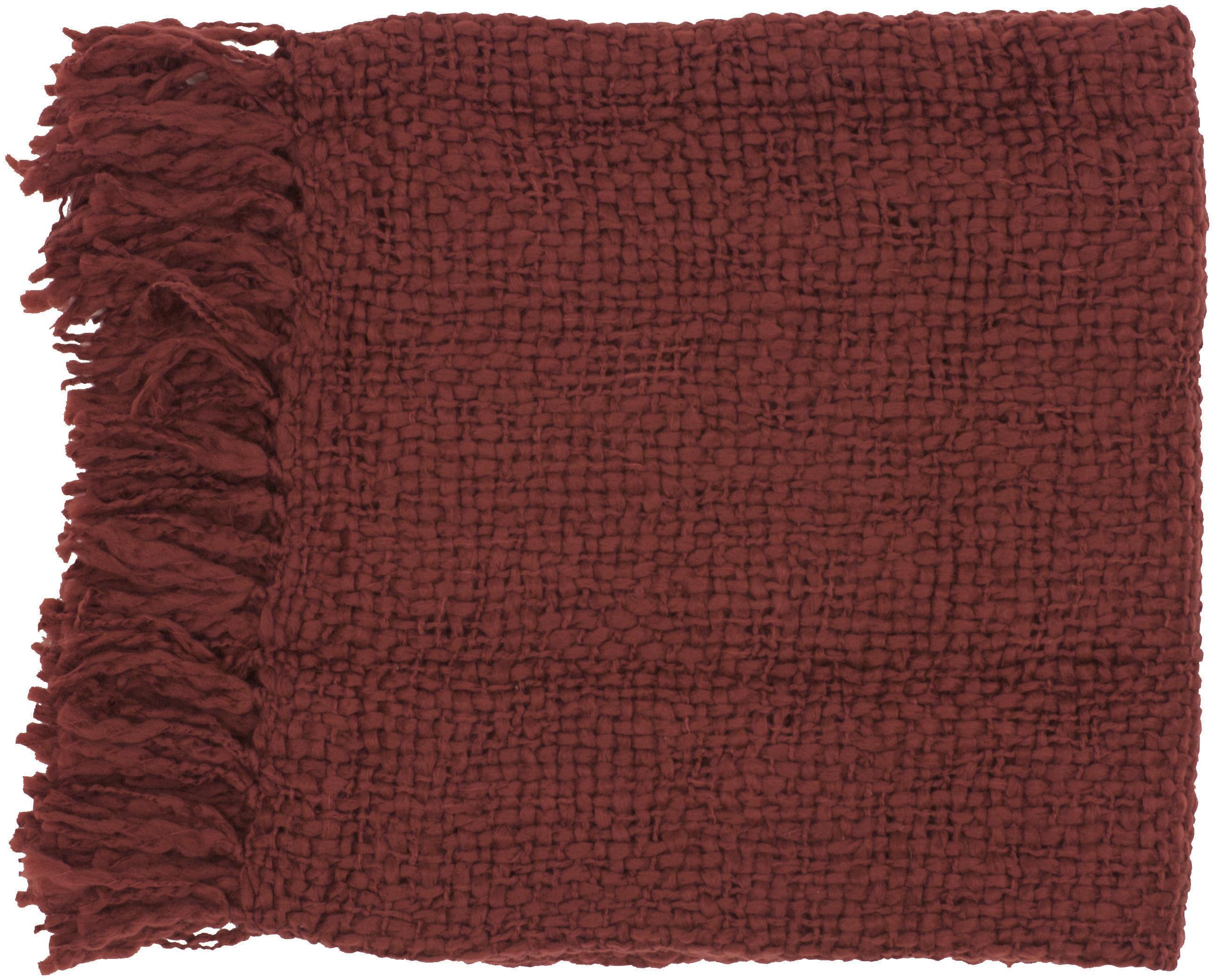 "Surya Throw Blankets Tobias 51"" x 71"" Throw - Item Number: TOB1001-5171"