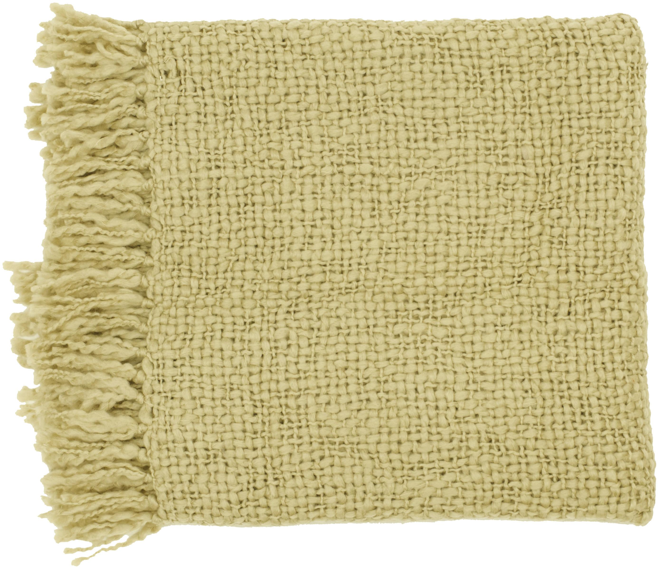 "Surya Throw Blankets Tobias 51"" x 71"" Throw - Item Number: TOB1008-5171"
