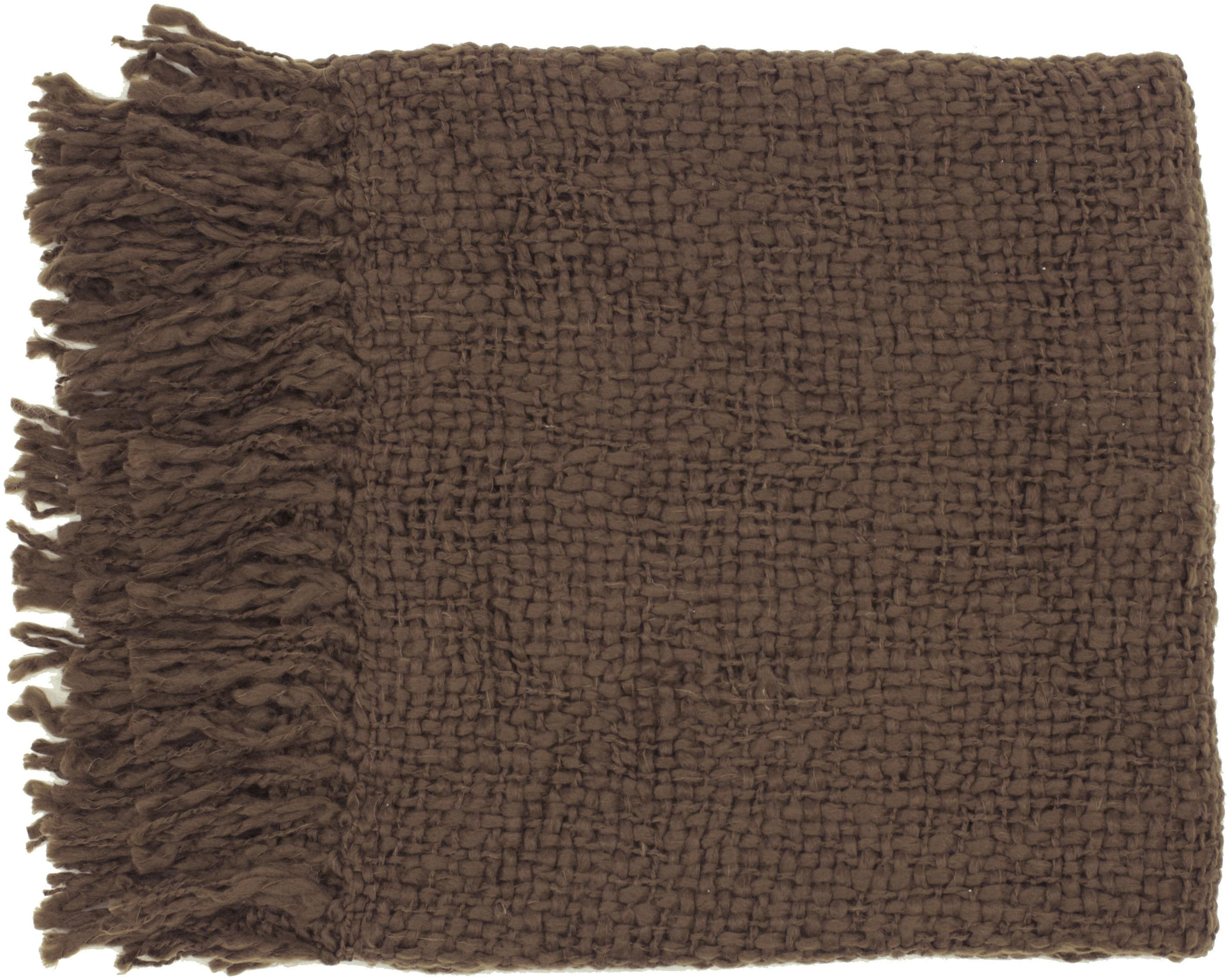 "Surya Throw Blankets Tobias 51"" x 71"" Throw - Item Number: TOB1009-5171"