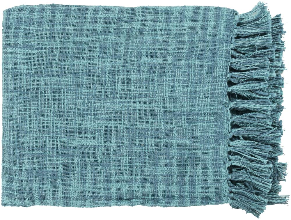 "Surya Throw Blankets Tori 49"" x 59"" Throw - Item Number: TOR001-4959"