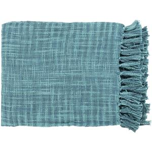 "Surya Throw Blankets Tori 49"" x 59"" Throw"