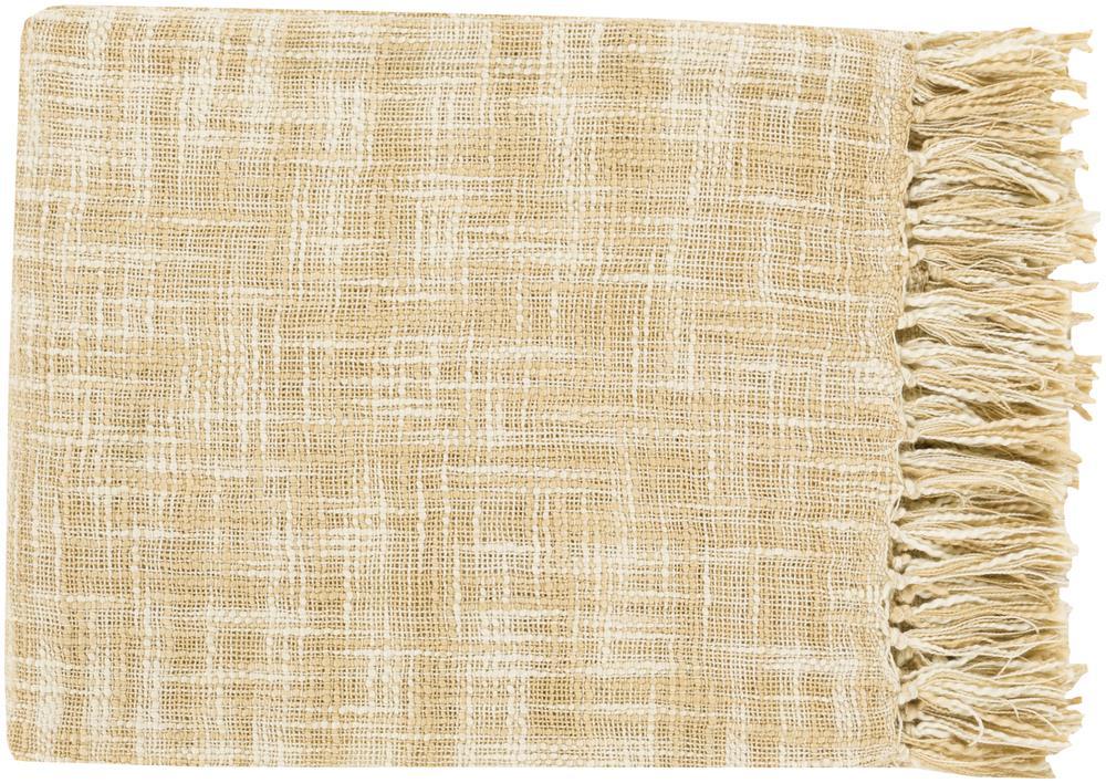 "Surya Throw Blankets Tori 49"" x 59"" Throw - Item Number: TOR002-4959"