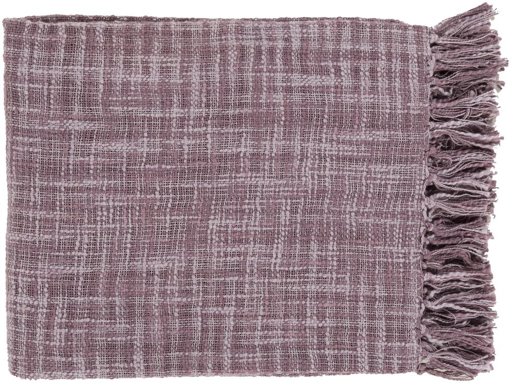 "Surya Throw Blankets Tori 49"" x 59"" Throw - Item Number: TOR003-4959"