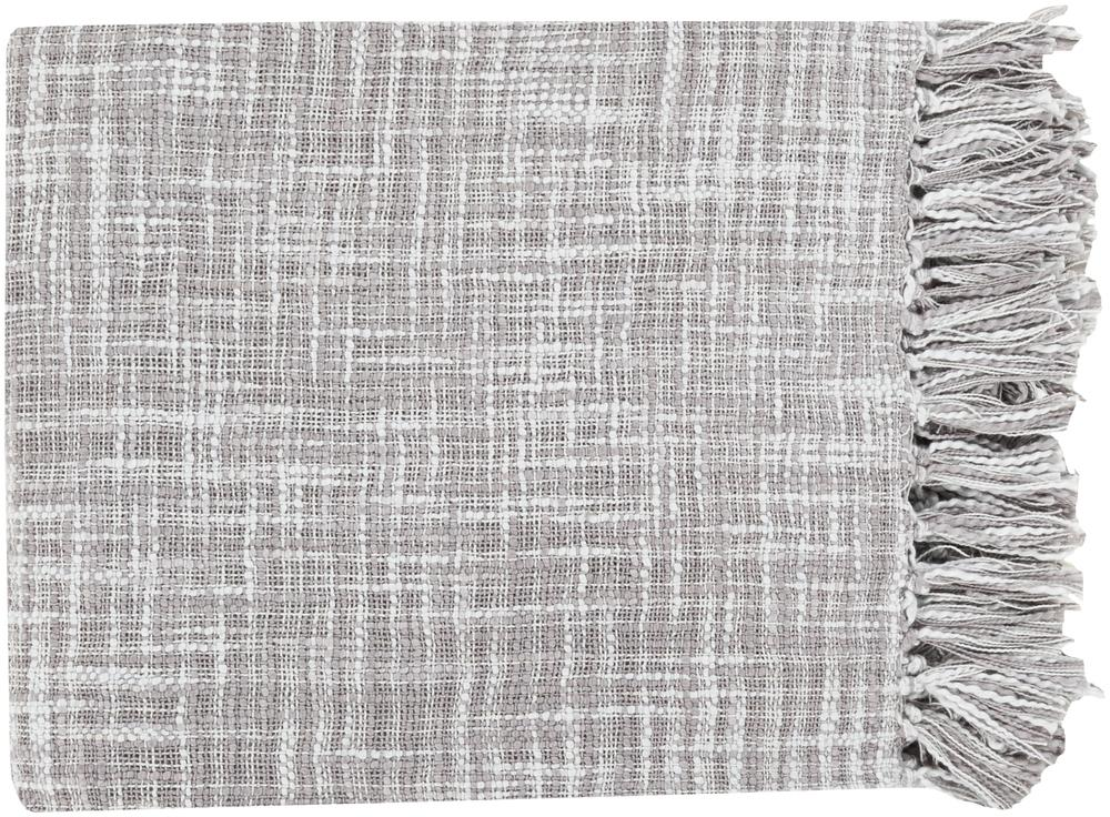 "Surya Rugs Throw Blankets Tori 49"" x 59"" Throw - Item Number: TOR006-4959"