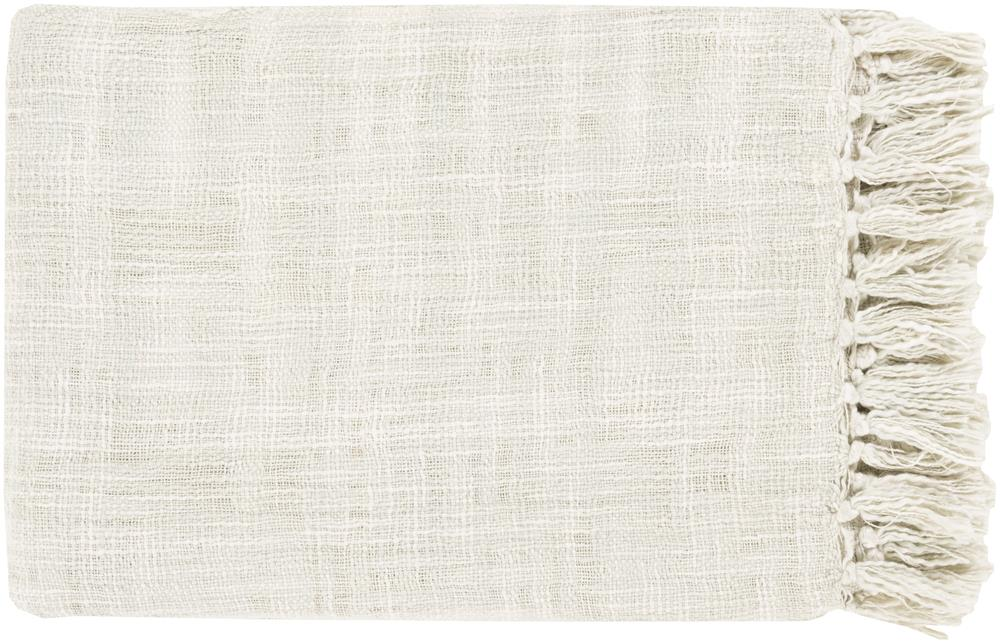 "Surya Rugs Throw Blankets Tori 49"" x 59"" Throw - Item Number: TOR007-4959"