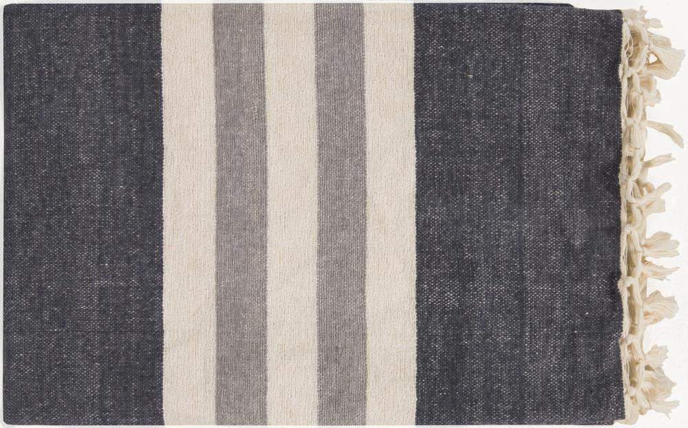 "Surya Rugs Throw Blankets Troy 50"" x 70"" Throw - Item Number: TOY7000-5070"