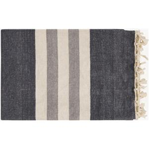 "Surya Rugs Throw Blankets Troy 50"" x 70"" Throw"
