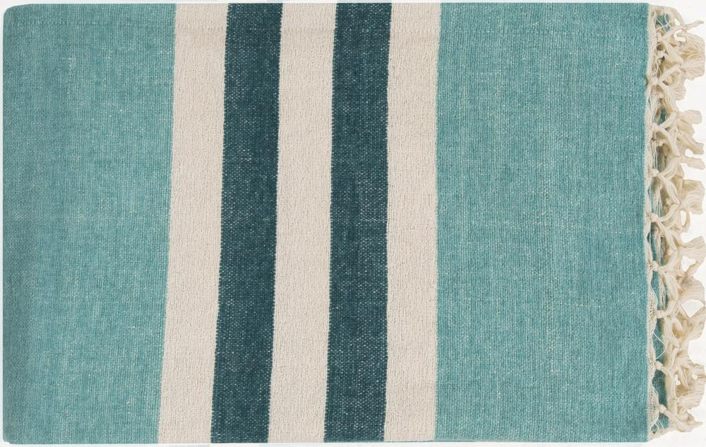 "Surya Rugs Throw Blankets Troy 50"" x 70"" Throw - Item Number: TOY7001-5070"