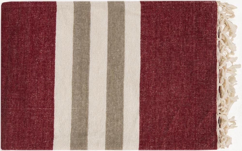 """Surya Throw Blankets Troy 50"""" x 70"""" Throw - Item Number: TOY7003-5070"""