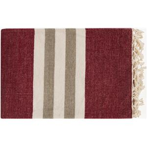 "Surya Throw Blankets Troy 50"" x 70"" Throw"