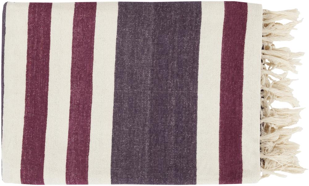 "Surya Throw Blankets Troy 50"" x 70"" Throw - Item Number: TOY7005-5070"