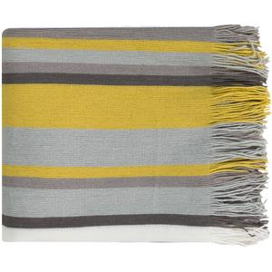 "Surya Throw Blankets Topanga 50"" x 60"" Throw"