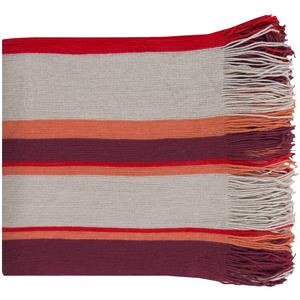 "Surya Rugs Throw Blankets Topanga 50"" x 60"" Throw"