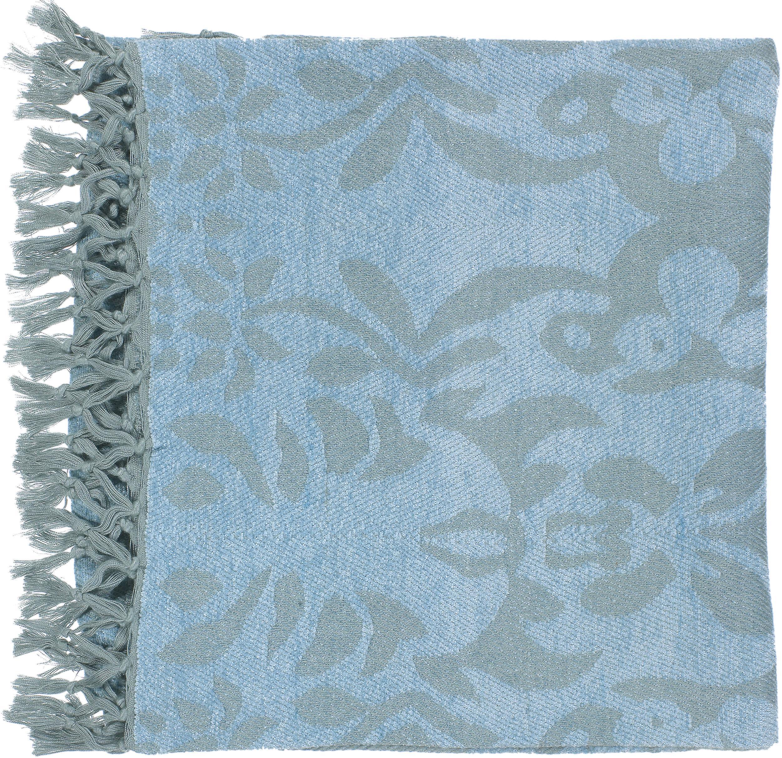 """Surya Throw Blankets Tristen 50"""" x 70"""" Throw - Item Number: TST2000-5070"""