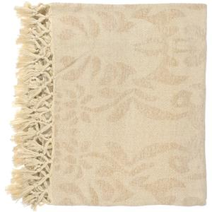 "Surya Rugs Throw Blankets Tristen 50"" x 70"" Throw"