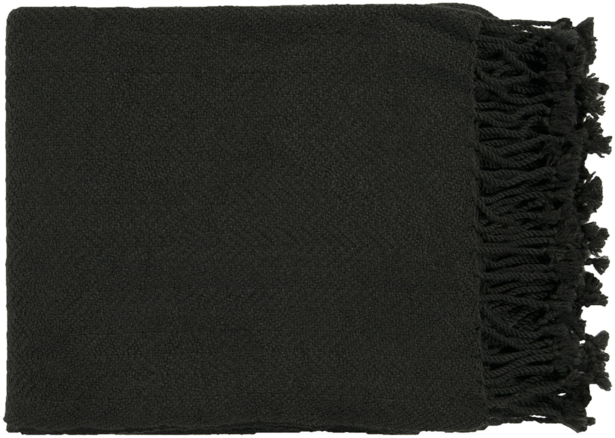 "Surya Throw Blankets Turner 50"" x 60"" Throw - Item Number: TUR8404-5060"