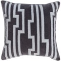 Surya Velocity 20 x 20 x 4 Down Throw Pillow - Item Number: COV001-2020D