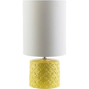 Surya Whitsett Yellow Modern Table Lamp