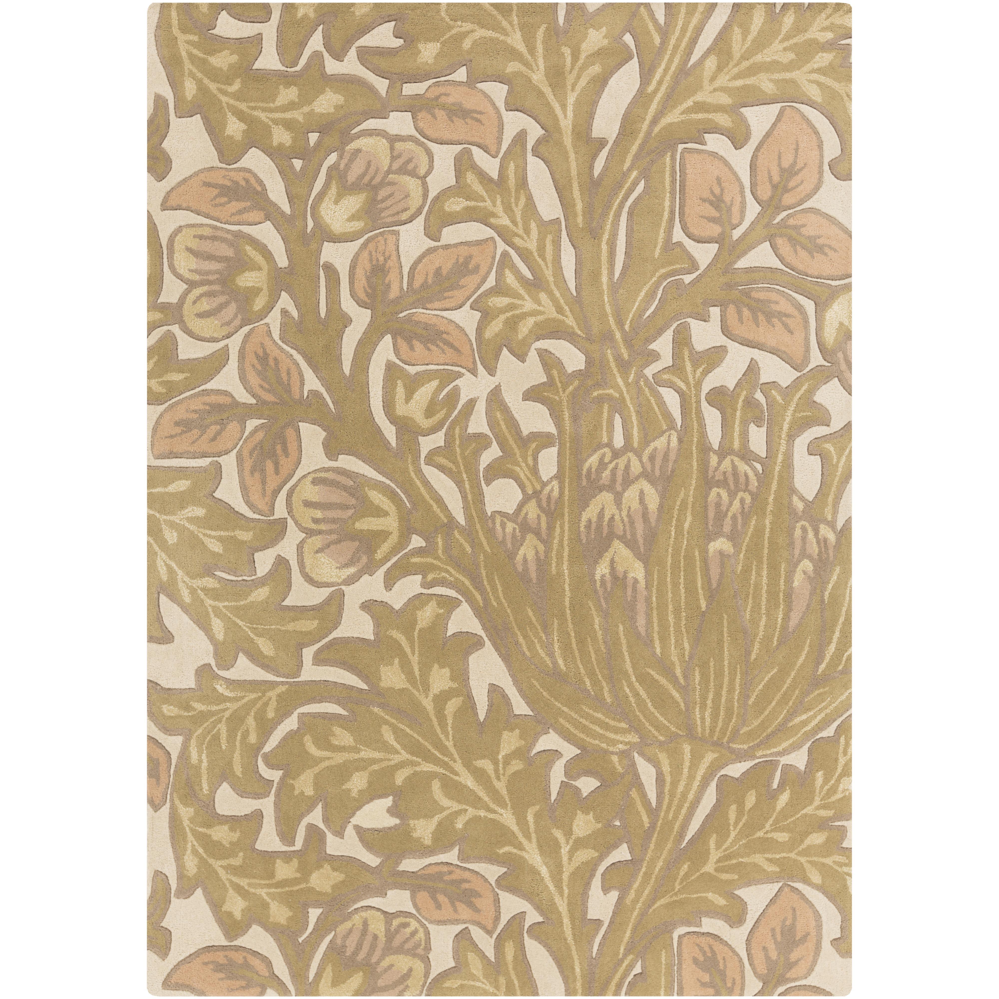 """Surya Rugs William Morris 3'3"""" x 5'3"""" - Item Number: WLM3005-3353"""