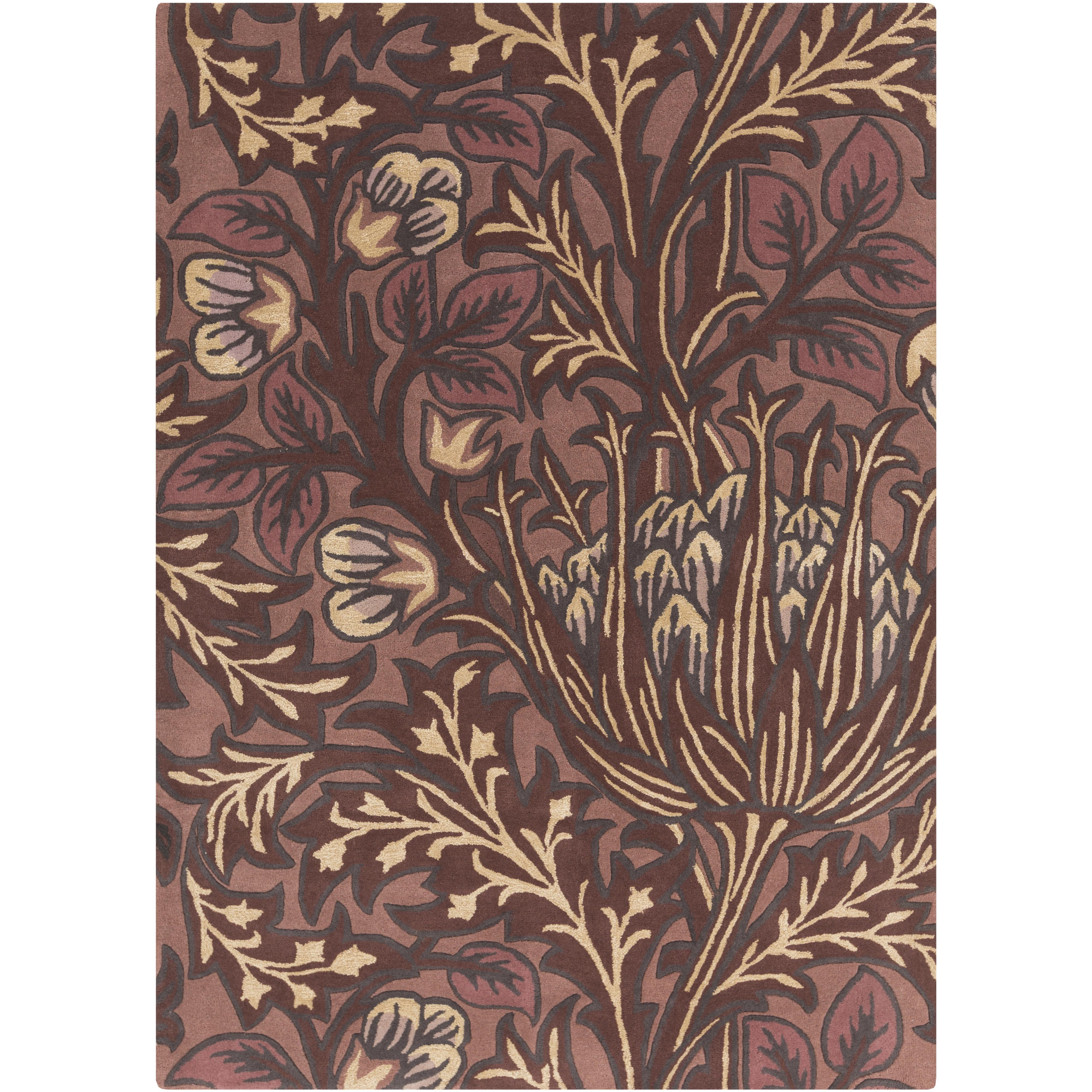 """Surya Rugs William Morris 3'3"""" x 5'3"""" - Item Number: WLM3006-3353"""