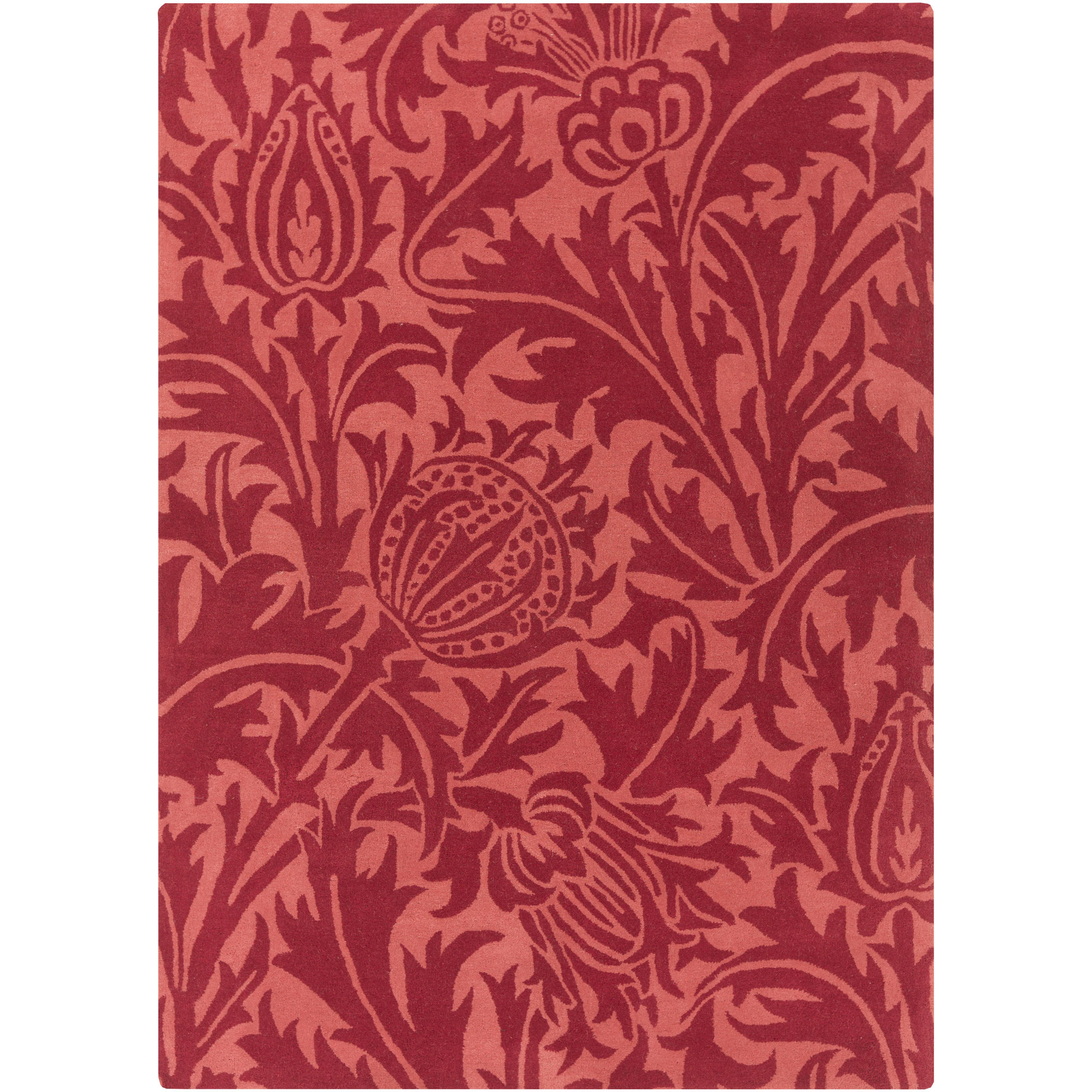 """Surya Rugs William Morris 3'3"""" x 5'3"""" - Item Number: WLM3007-3353"""
