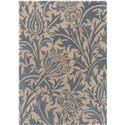 """Surya Rugs William Morris 3'3"""" x 5'3"""" - Item Number: WLM3008-3353"""