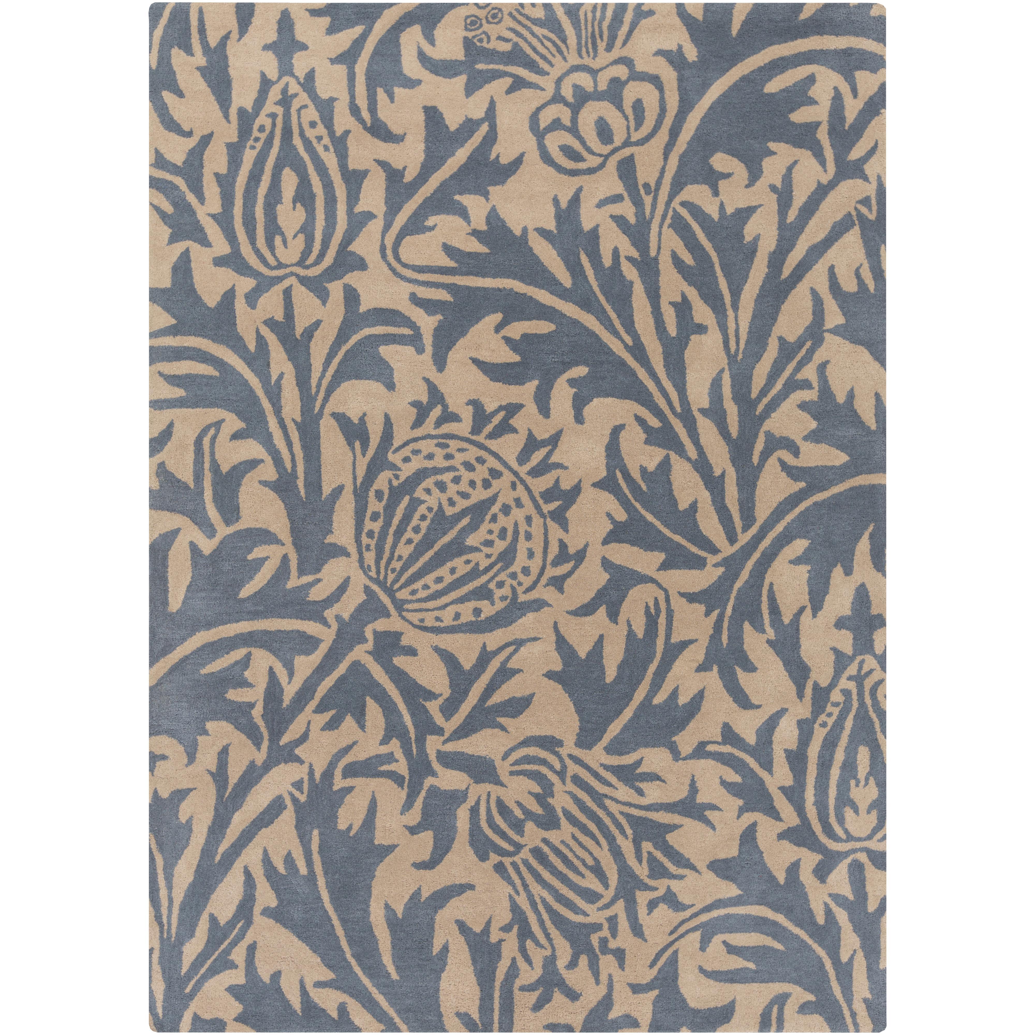 Surya Rugs William Morris 5' x 8' - Item Number: WLM3008-58
