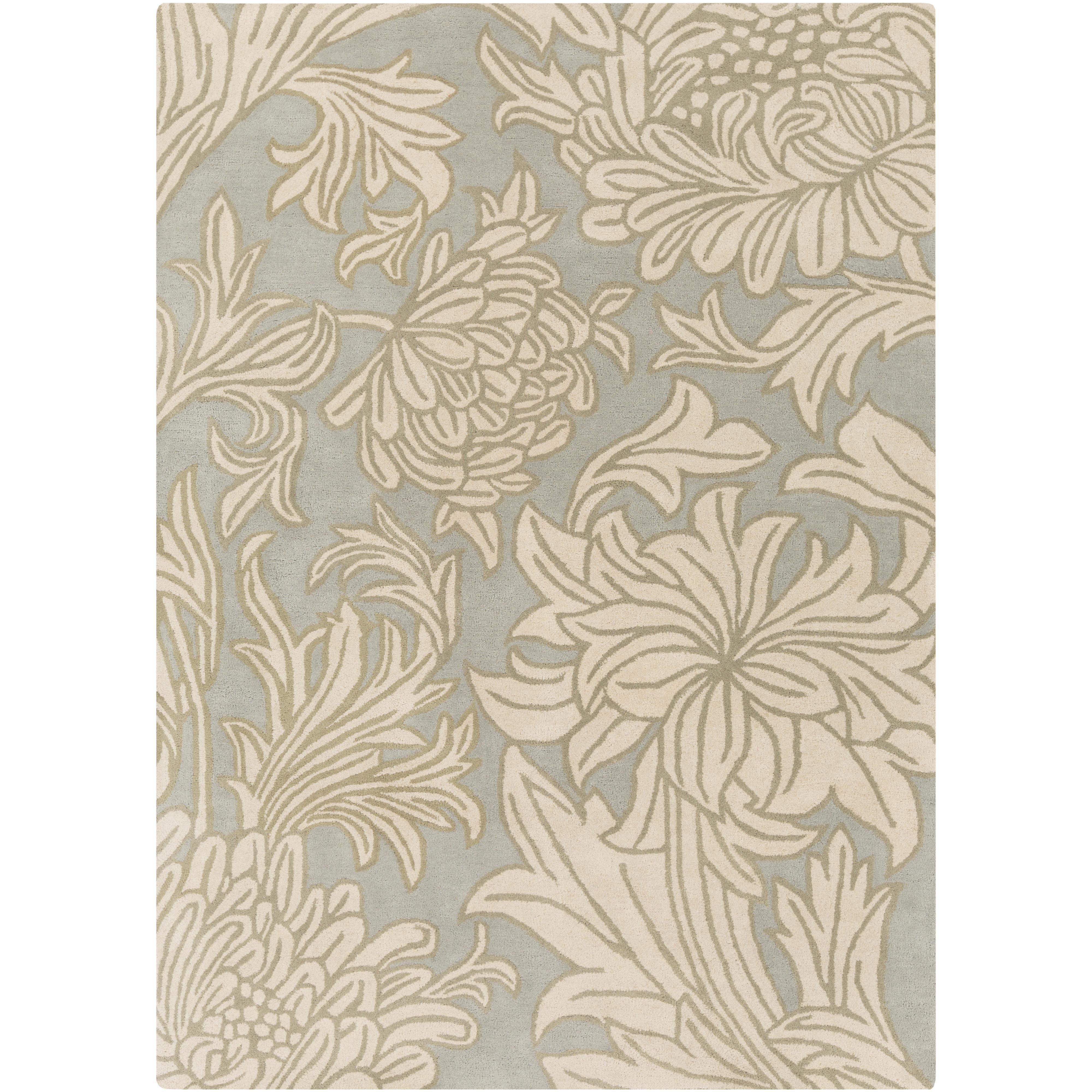 """Surya Rugs William Morris 3'3"""" x 5'3"""" - Item Number: WLM3009-3353"""