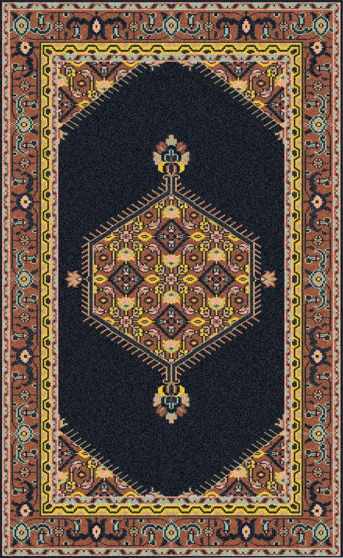 Surya Zahra 8' x 11' - Item Number: ZHA4004-811