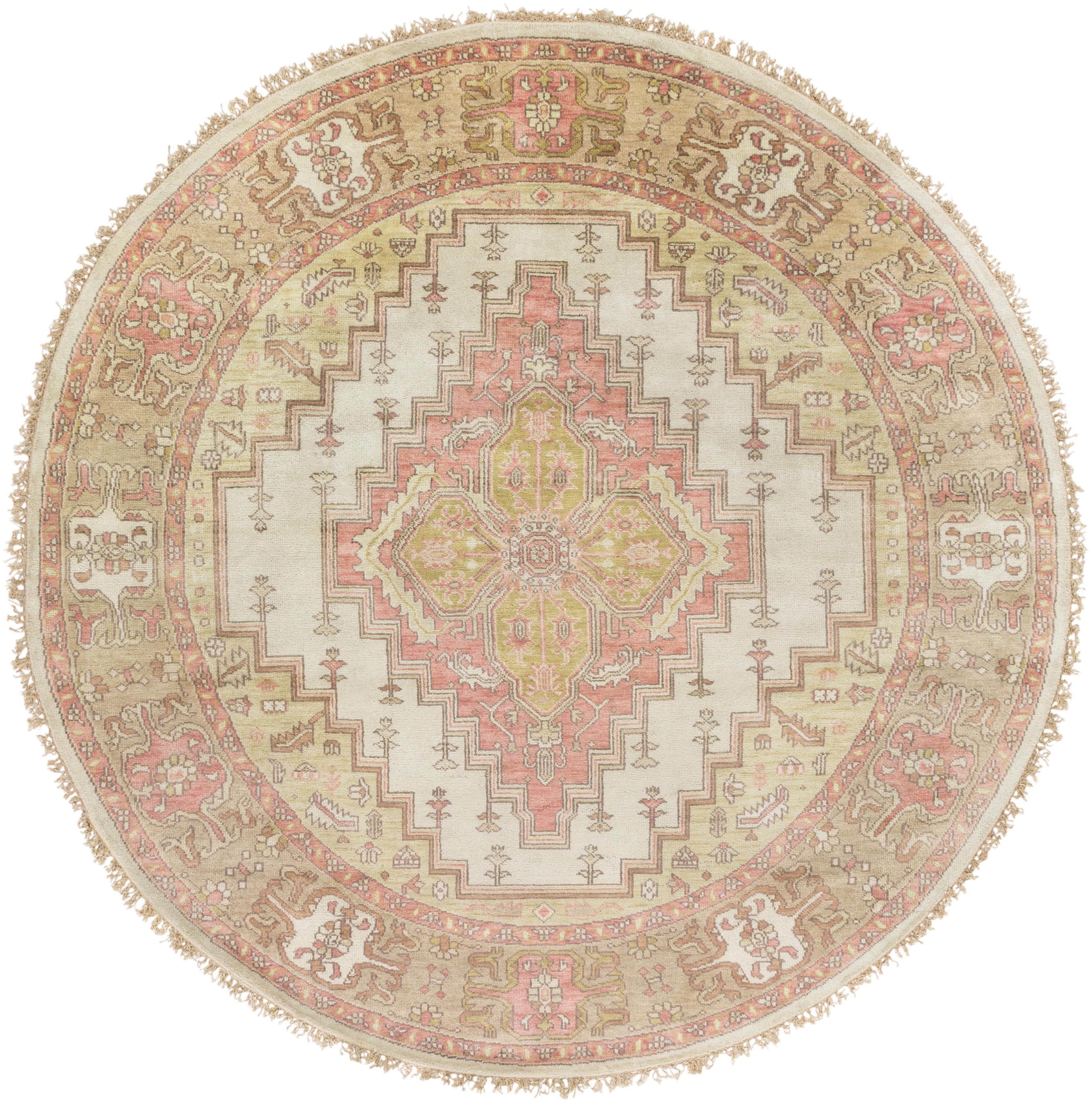 Surya Zeus 8' Round - Item Number: ZEU7819-8RD