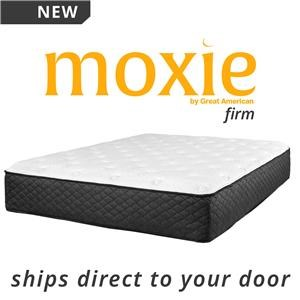 "Full 10.5"" Firm Direct Ship Mattress"