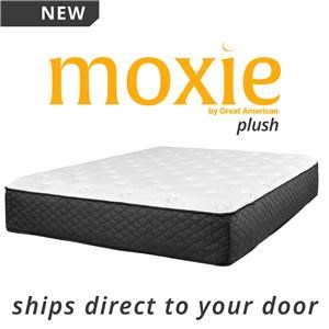 "King 12 1/2"" Plush Direct Ship Mattress"
