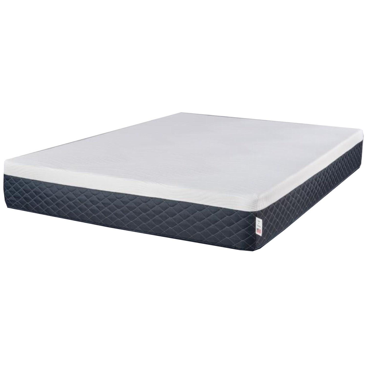 """King 10"""" Serene Comfort Foam Mattress"""