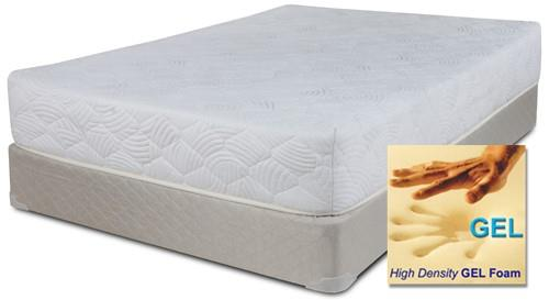 "Full 8"" Memory Foam Mattress Set"