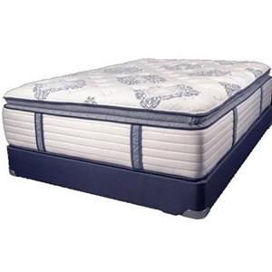 King Coil on Coil Pillow Top Mattress