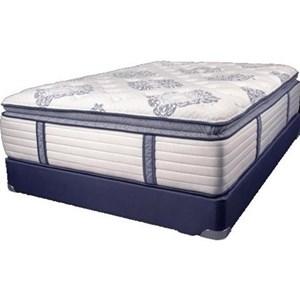 Symbol Mattress The Luxury Signature PT Twin Coil on Coil Pillow Top Mattress