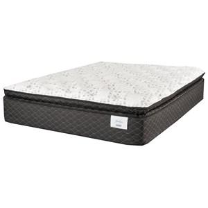 "King 14"" Plush Pillow Top Mattress"