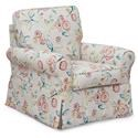 Sarah Randolph Designs 1149 Swivel Glider Chair - Item Number: 77086
