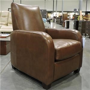 Synergy Furniture Industries Clearance Harper Leather Recliner