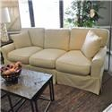 Synergy Furniture Industries Nancy Slipcovered Sofa - Item Number: 611159225