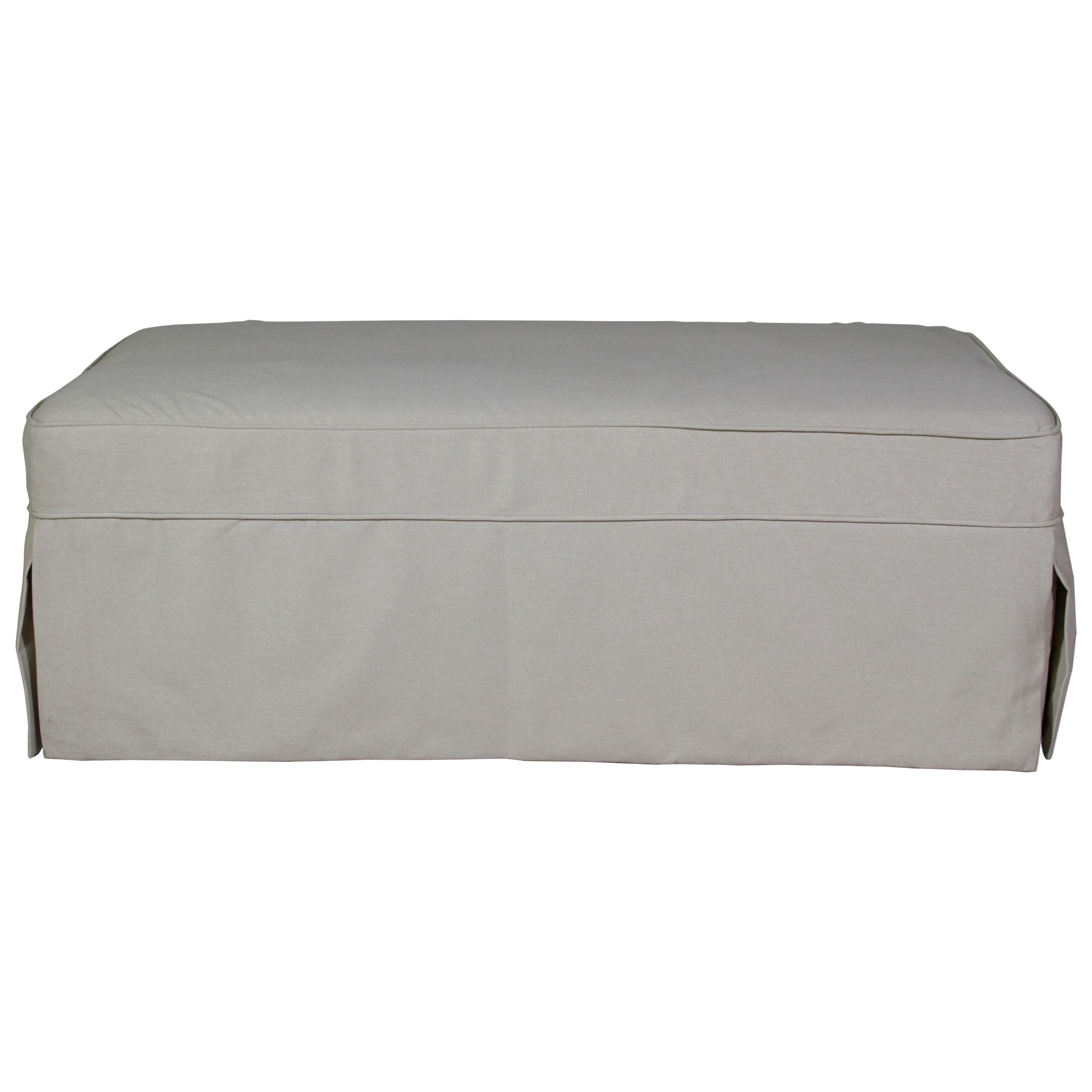 Synergy Home Furnishings Sunset Sleeper Ottoman - Item Number: 1023-80 3916-84