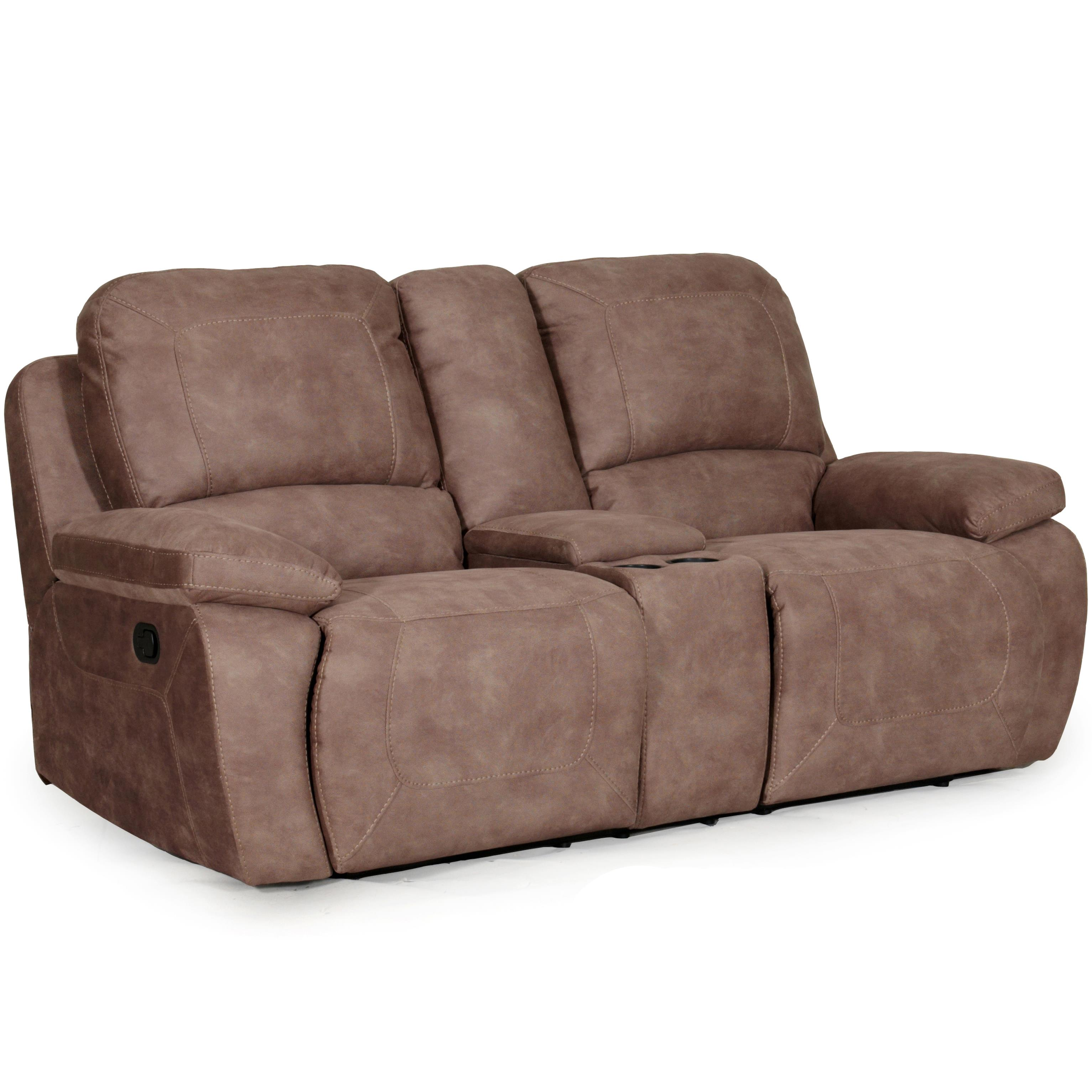 Casual Power Lay Flat Reclining Love Seat