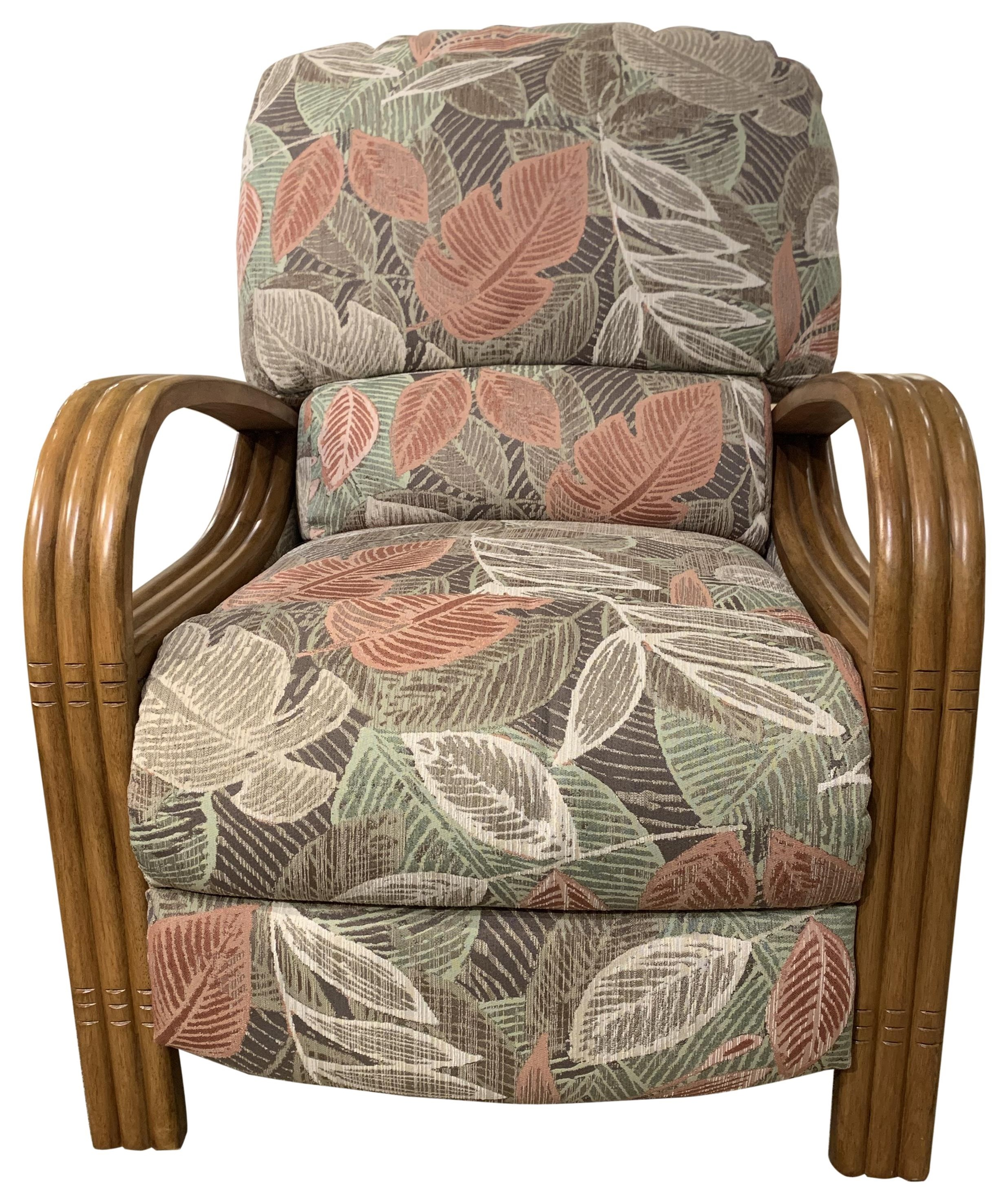 Key Largo Pushback Chair by Synergy Home Furnishings at HomeWorld Furniture