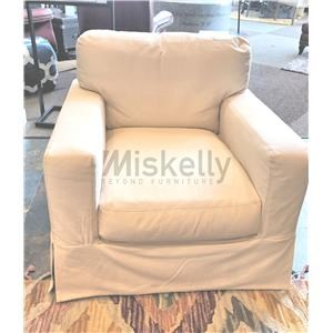 Synergy Home Furnishings 1205 Slipcover Swivel Chair