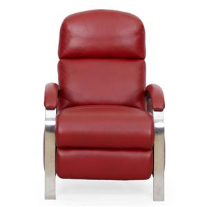 Synergy Home Furnishings 1238 Contemporary Recliner with Push Through Arms