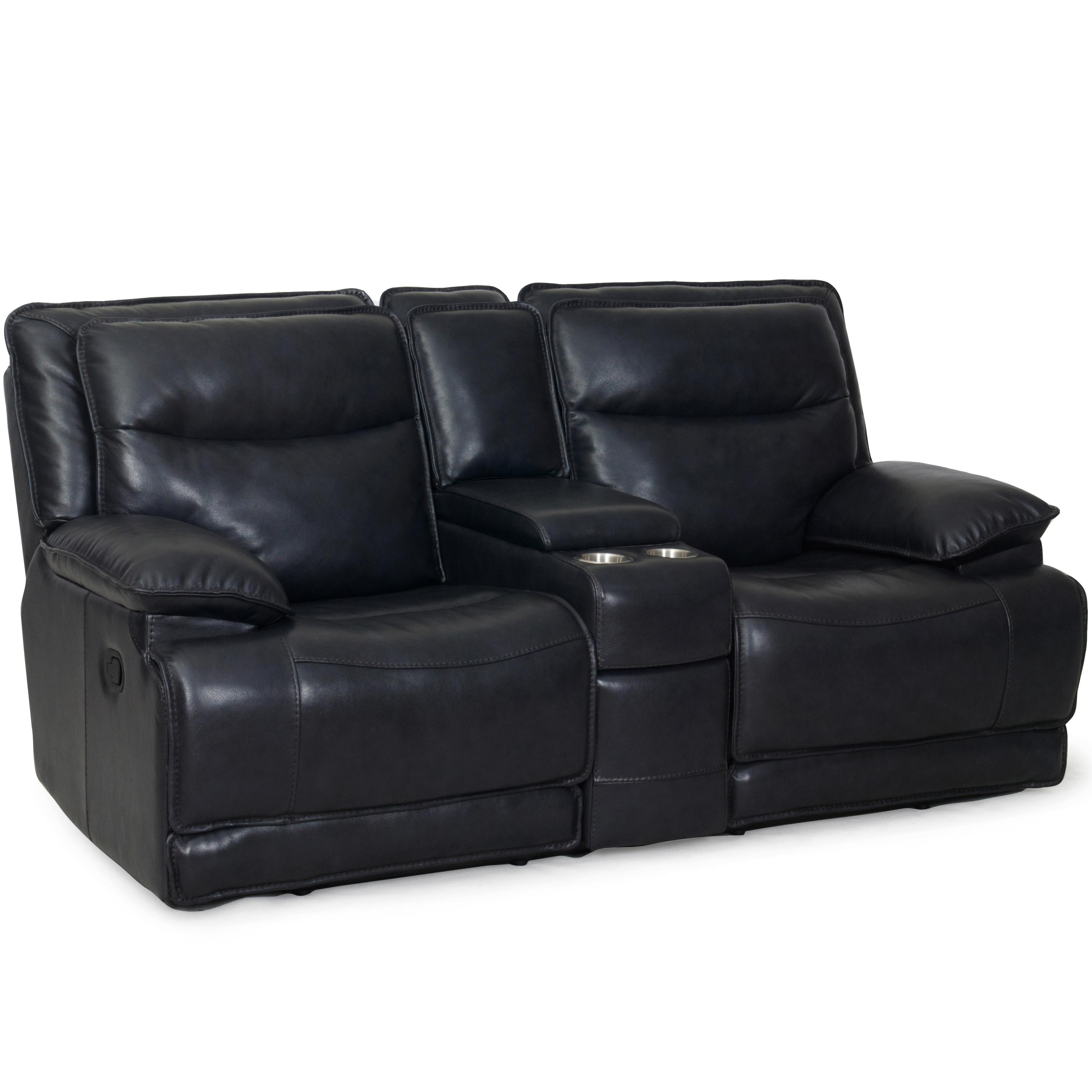 Sarah Randolph Designs-CC 1242 Casual Power Reclining Love Seat - Item Number: 1242-73pwr-TaylorGraphite